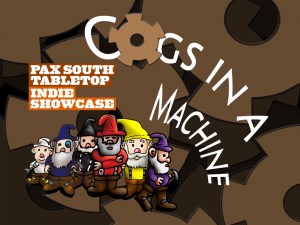 Cogs in a Machine Selected for PAX South Tabletop Showcase